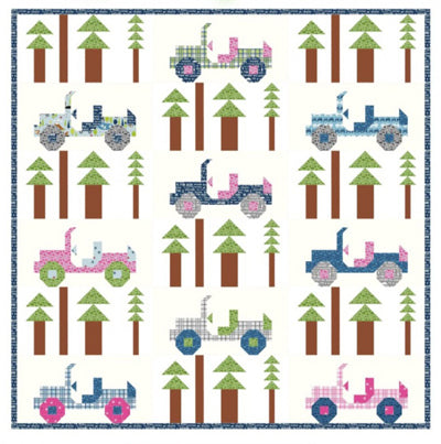 Kelli Fannin Quilt Design Jeepers