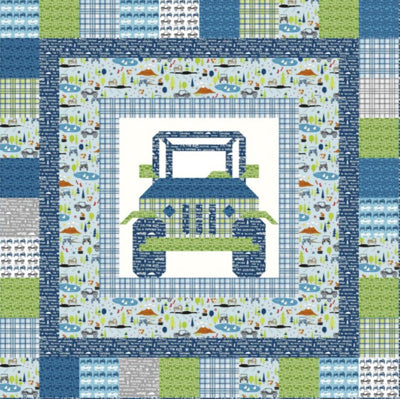 Kelli Fannin Quilt Design Off Road