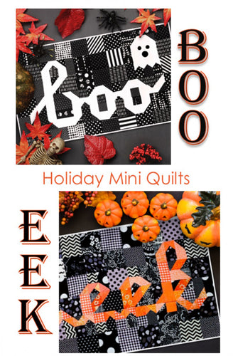 Kelli Fannin Quilt Design Holiday Boo Quitls