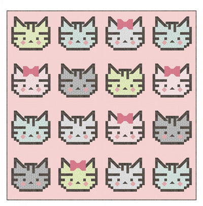 Kelli Fannin Quilt Design Patchwork Kitty