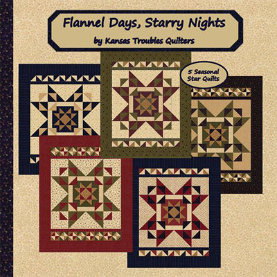 Kansas Troubles Quilters Flannel Days, Starry Nights