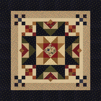 Kansas Troubles Quilters Barn Star
