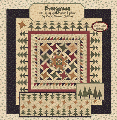 Kansas Troubles Quilters Evergreen Booklet