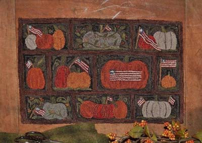 Old Tattered Flag Flags N' Pumpkins