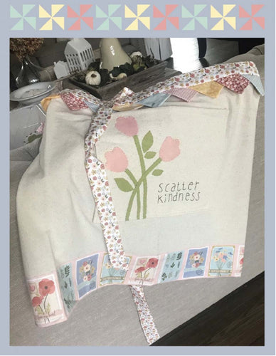 Poppy Cotton Scatter Kindness Apron