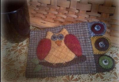 Rustic Country Handcrafts Ollie Owl