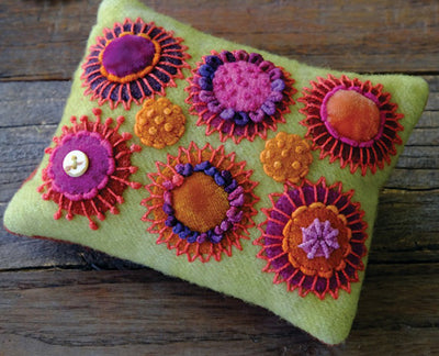 Sue Spargo  Circle Play Pincushion