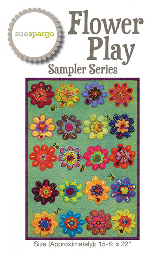 Sue Spargo  Flower Play Sampler Series
