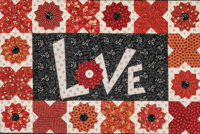 Suzn Quilts  Love & Dresden Kisses