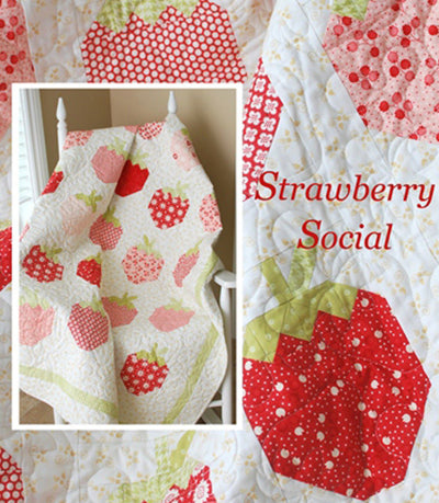 The Pattern Basket Strawberry Social