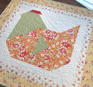 The Pattern Basket Nesting Table Topper