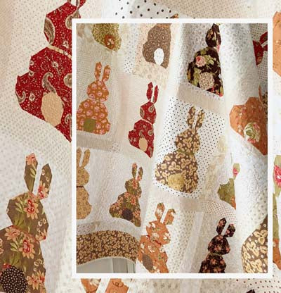 The Pattern Basket Country Bunnies