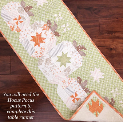 The Pattern Basket Hocus Pocus Table Runner
