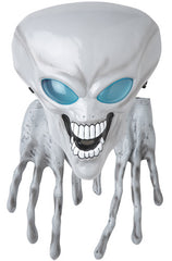Alien Mask and Hands (Grey)