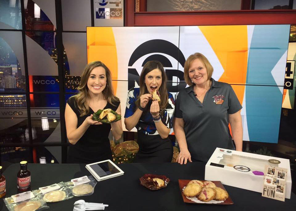 WCCO Mid-morning: Sara's Tipsy Pies Uses Local Whiskey in Filling