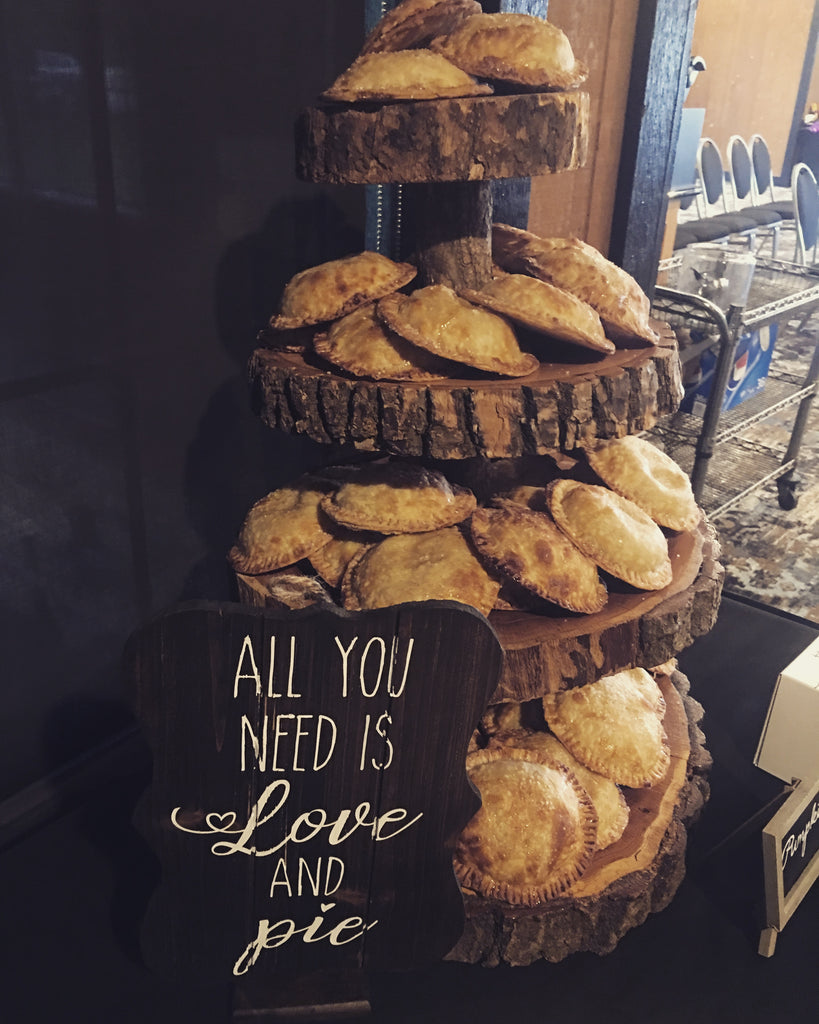 Couples Wedding Tasting-Sweet Hand Pies-Sara's Tipsy Pies