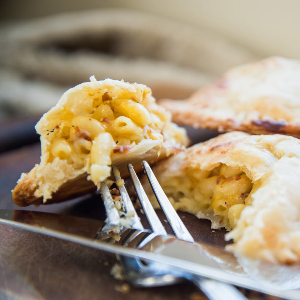 Beer Bacon Mac & Cheese Hand Pies-Savory Hand Pies-Sara's Tipsy Pies