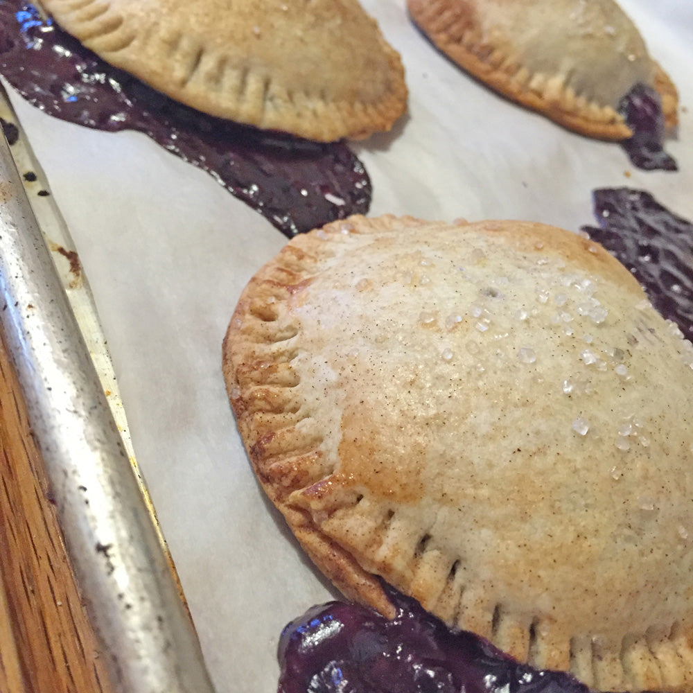 Boozy Blueberry-Lemon Hand Pies-Sweet Hand Pies-Sara's Tipsy Pies