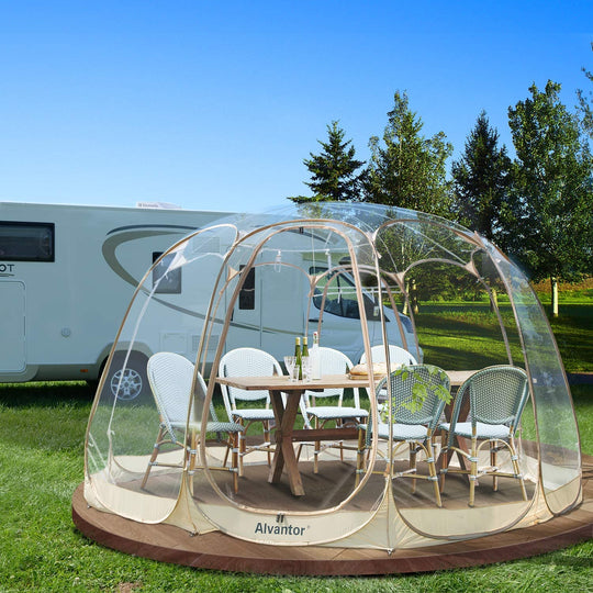 Alvantor 12'* 12' Outdoor Bubble Tent/ Portable Pop up Gazebo