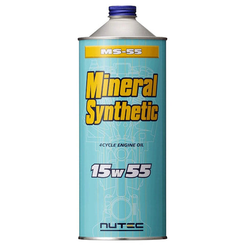 NUTEC(ニューテック) Mineral Synthetic ミネラル系エンジンオイル MS-55 15W55