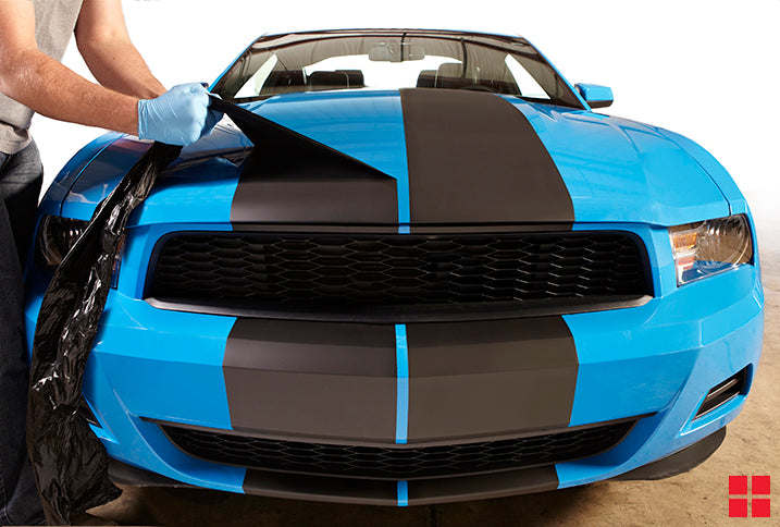 How to Paint Removable Racing Stripes on Your Car