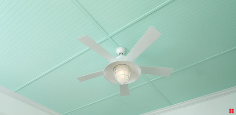 Ceiling Fan with Spray Paint