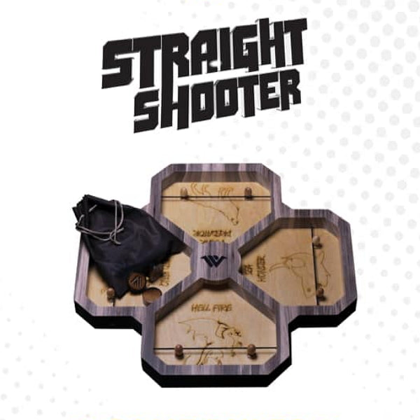 Straight Shooter 4 Player Game