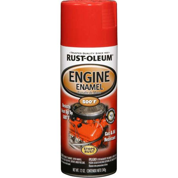 Rust-Oleum Automotive 12 Ounce 355ML Red Engine Spray