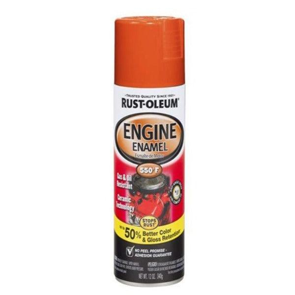 Rust-Oleum Automotive 12 Ounce 355ML Engine Ford Red Spray