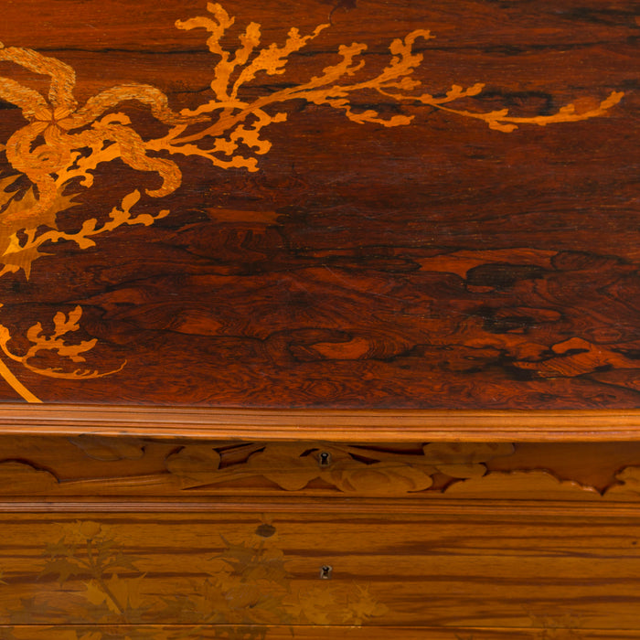 "The Craftsmanship Of Émile Gallé: ""Chardons des Sables"" Chest of Drawers"