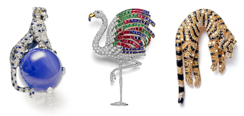 Some of Cartier's Bestiary Jewels, Designed by Jeanne Toussaint