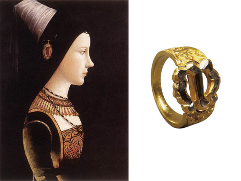 Mary of Burgundy's Engagement Ring, dated 1477
