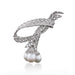 Macklowe Gallery Pierre Sterlé Diamond and South Sea Pearl Brooch