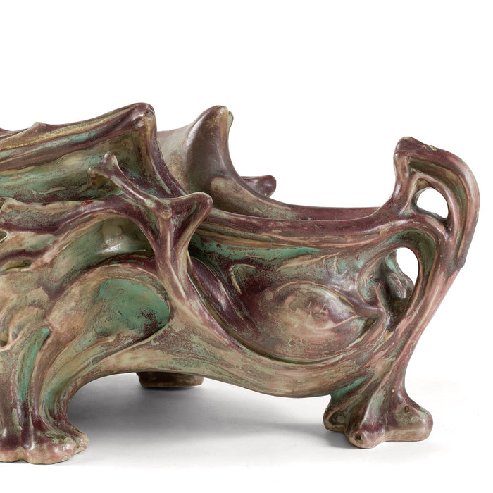 Macklowe Gallery Hector Guimard Large Glazed Ceramic Planter