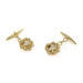 Macklowe Gallery Gold and Diamond Sailor's Knot Cuff Links