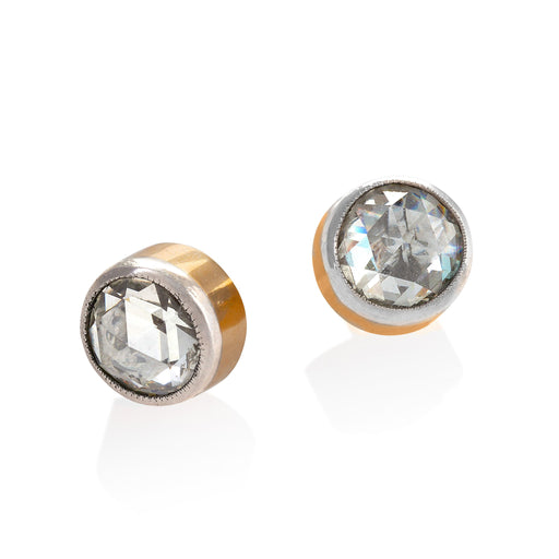 Macklowe Gallery Rose-Cut Diamond Stud Earrings