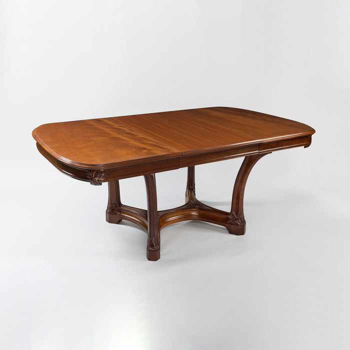Macklowe Gallery Camille Gauthier & Paul Poinsignon Mahogany Dining Suite
