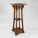 Macklowe Gallery Louis Majorelle Three-Tiered Walnut Pedestal