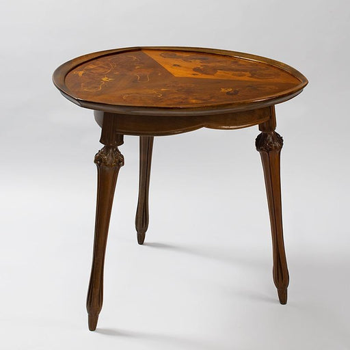 Macklowe Gallery Louis Majorelle Mahogany Salon Table