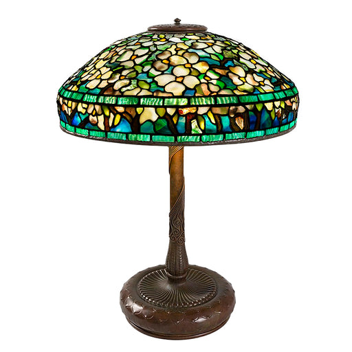 "Macklowe Gallery Tiffany Studios New York ""Dogwood"" Table Lamp"