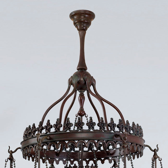 "Tiffany Studios New York ""Stalactite"" Favrile Chandelier"