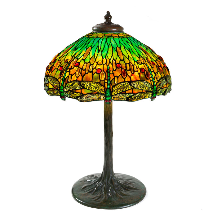 "Macklowe Gallery Tiffany Studios New York ""Drophead Dragonfly"" Table Lamp"