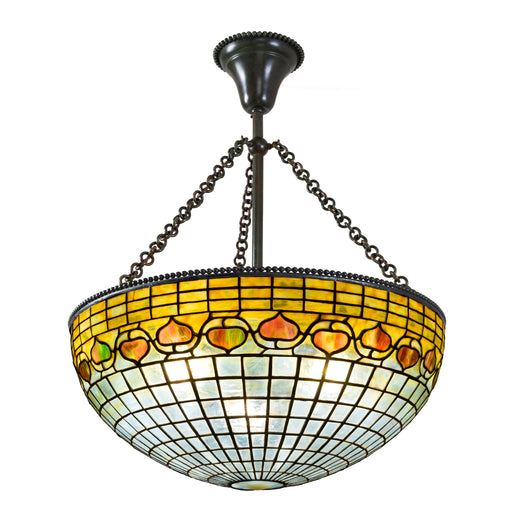 "Macklowe Gallery Tiffany Studios New York ""Acorn"" Chandelier"