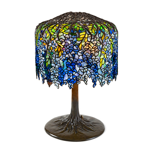 "Macklowe Gallery Tiffany Studios New York ""Wisteria"" Table Lamp"
