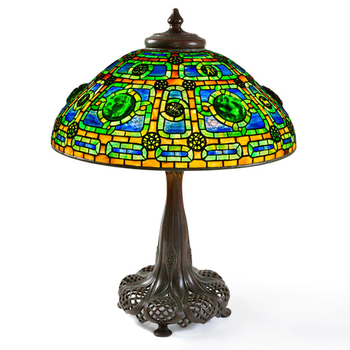"Macklowe Gallery Tiffany Studios New York ""Zodiac"" Table Lamp"