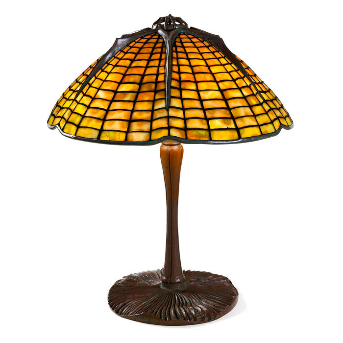 "Macklowe Gallery Tiffany Studios New York ""Spider"" Table Lamp"