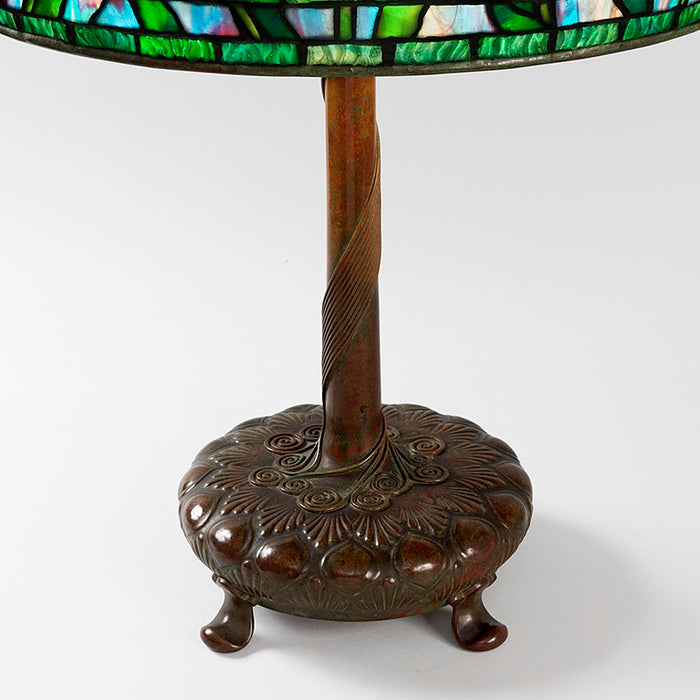 "Tiffany Studios New York ""Peony"" Table Lamp"