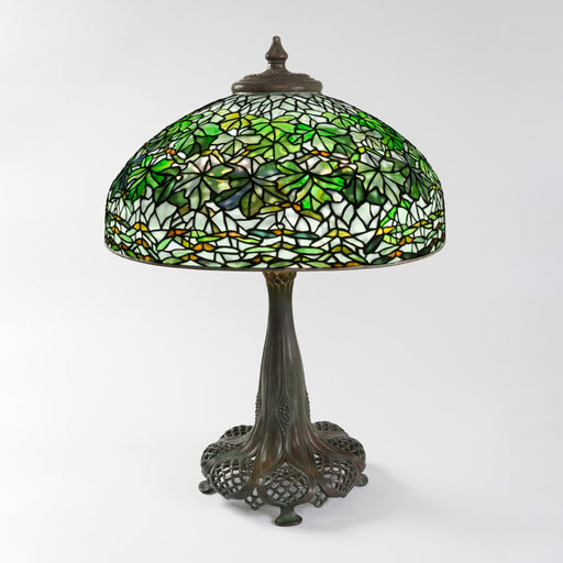 "Macklowe Gallery Tiffany Studios New York ""Maple Leaf"" Table Lamp"