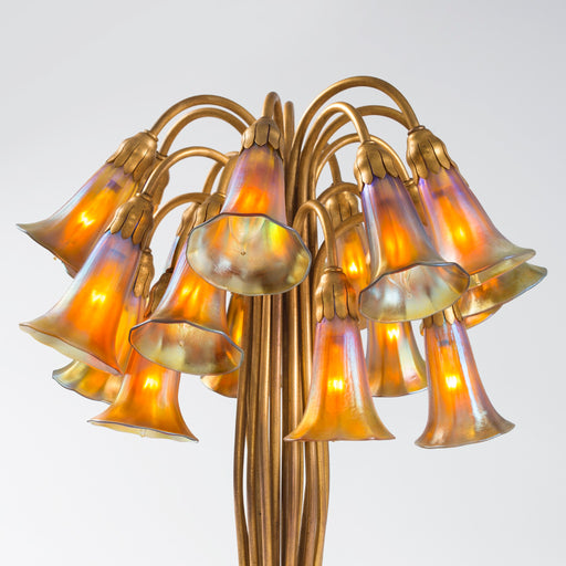 "Macklowe Gallery Tiffany Studios New York ""Eighteen Light Lily"" Table Lamp"