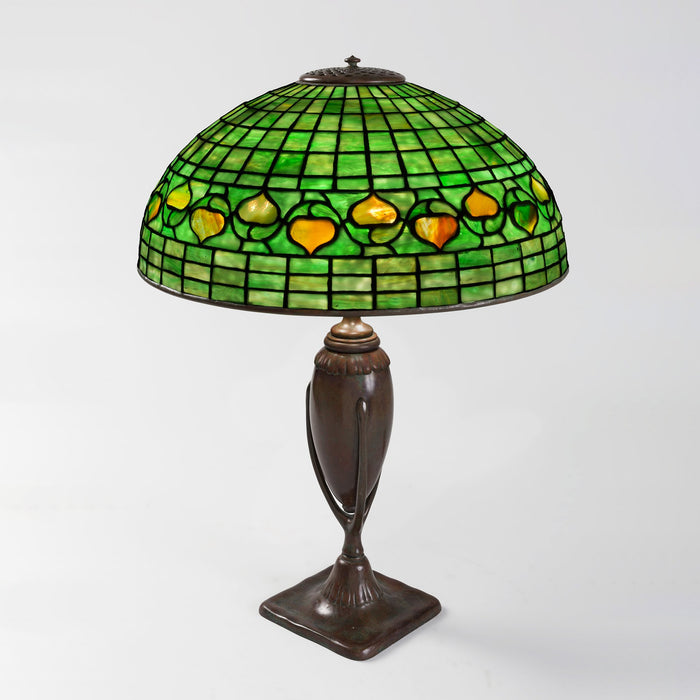 "Macklowe Gallery Tiffany Studios New York ""Acorn"" Table Lamp"